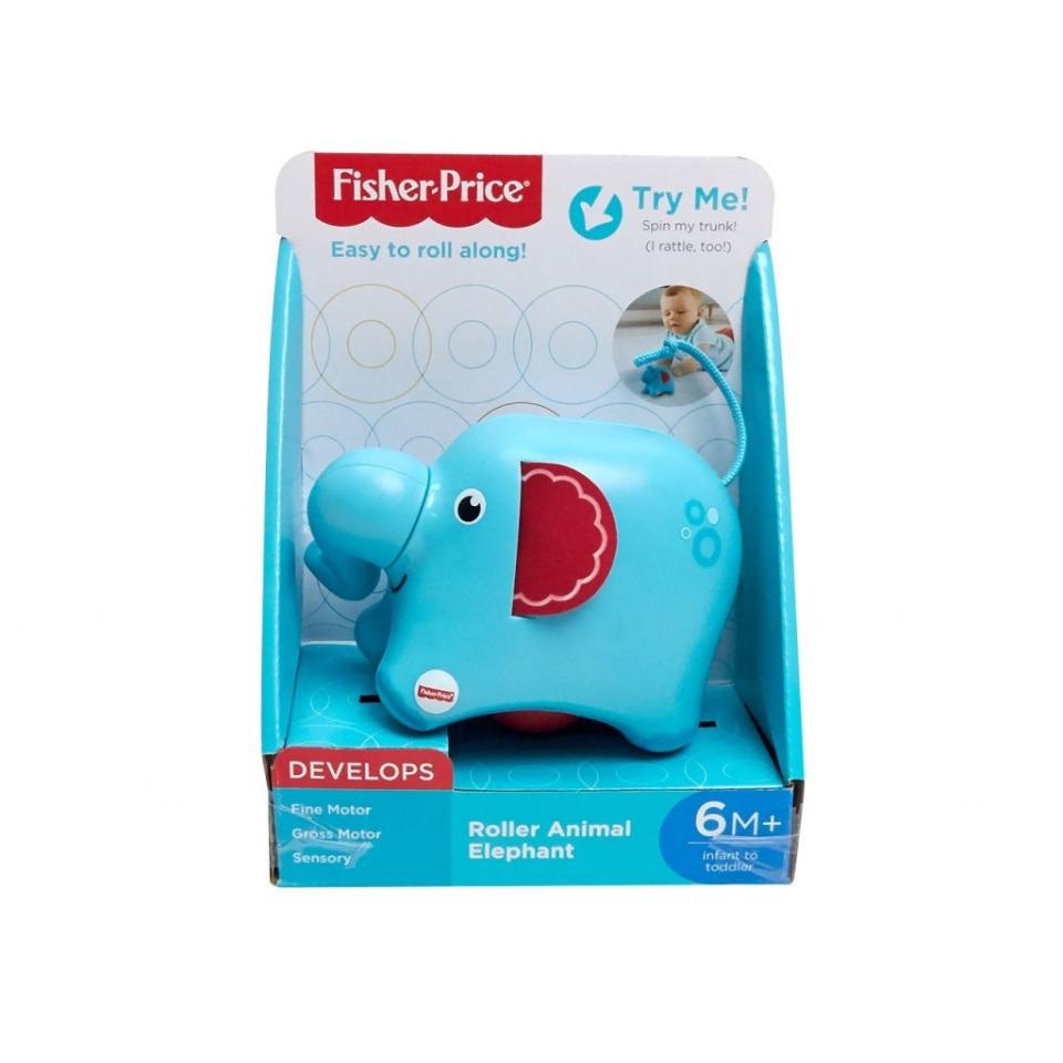 Obrázek 2 produktu Fisher Price Jezdící zvířátko Slon, Mattel FRR63