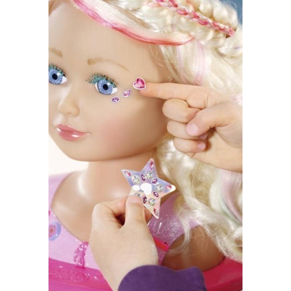 Obrázek 1 produktu Starší sestřička BABY born Česací hlava s barevnými křídami