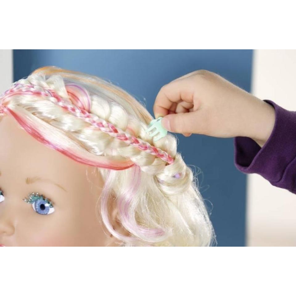 Obrázek 2 produktu Starší sestřička BABY born Česací hlava s barevnými křídami