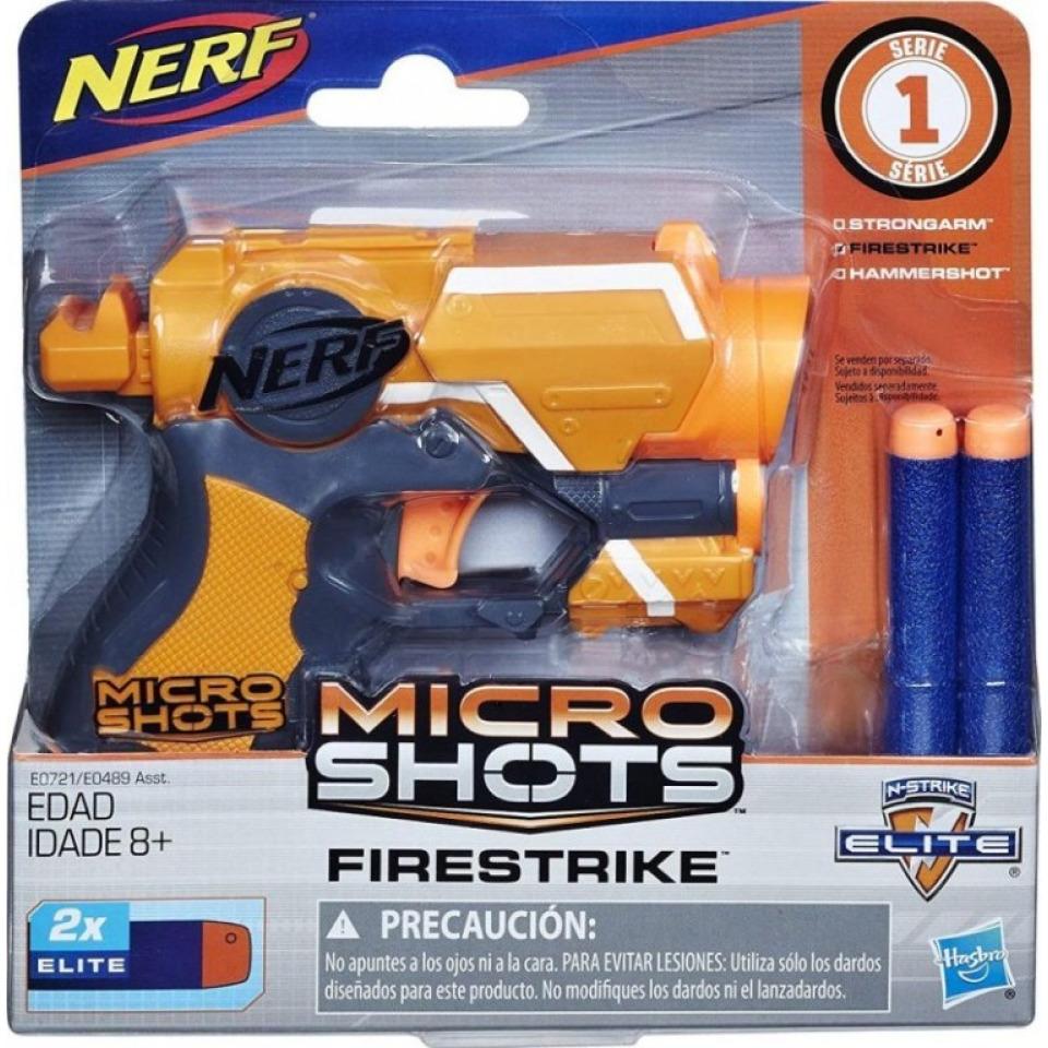 Obrázek 1 produktu Hasbro NERF Microshots Firestrike, E0721