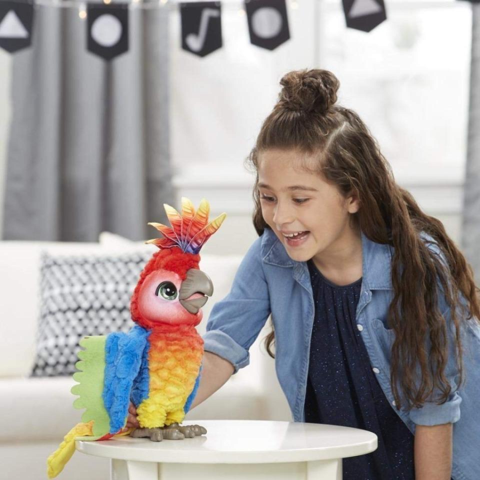 Obrázek 2 produktu FurReal Friends Mluvící papoušek , Hasbro E0388