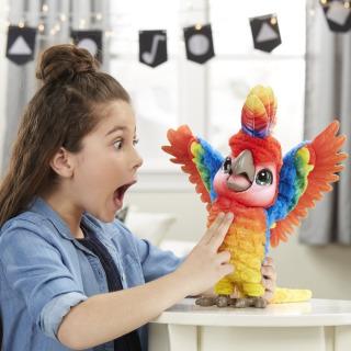 Obrázek 4 produktu FurReal Friends Mluvící papoušek , Hasbro E0388