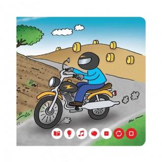 Obrázek 3 produktu Albi Kouzelné čtení Minikniha - Dopravní prostředky