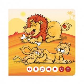Obrázek 3 produktu Albi Kouzelné čtení Minikniha - Zvířátka z divočiny