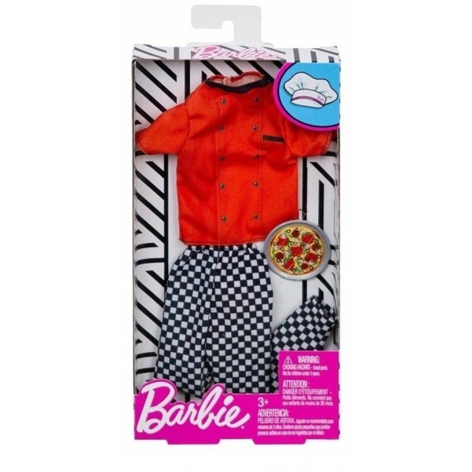 Obrázek 1 produktu Barbie Kenovy profesní oblečky - Kuchař, Mattel FXJ50