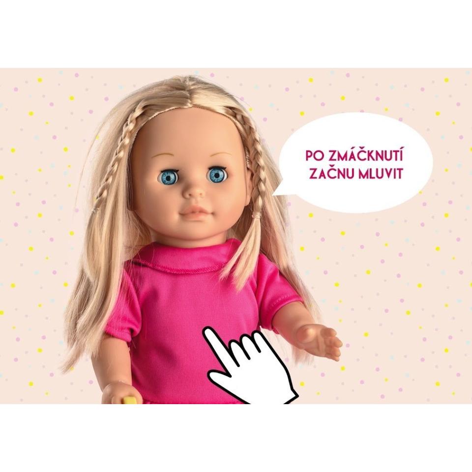 Obrázek 3 produktu Panenka Sofinka s pejskem chodící a česky mluvící 42cm