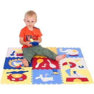 Obrázek 2 produktu Pěnové puzzle cirkus 32x32x1cm