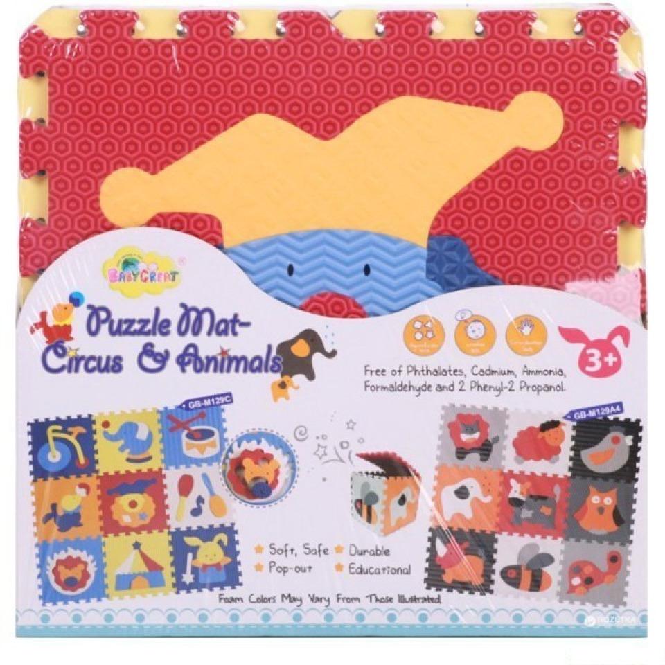 Obrázek 3 produktu Pěnové puzzle cirkus 32x32x1cm