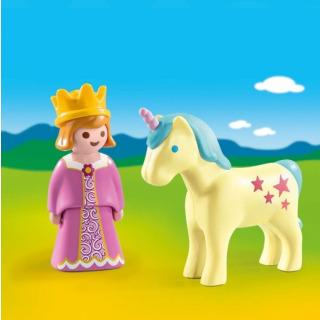 Obrázek 2 produktu Playmobil 70127 Princezna s jednorožcem (1.2.3)