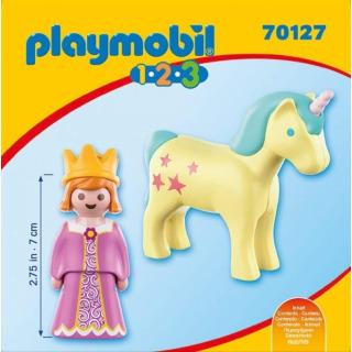 Obrázek 3 produktu Playmobil 70127 Princezna s jednorožcem (1.2.3)