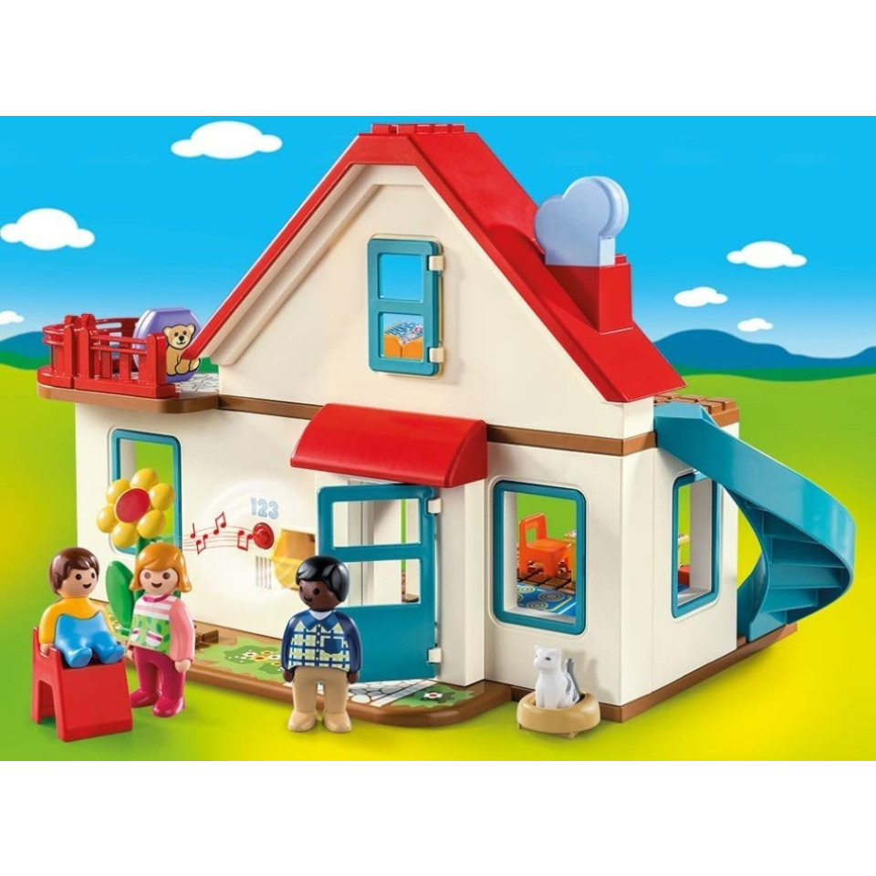 Obrázek 1 produktu Playmobil 70129 Rodinný dům (1.2.3)