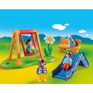 Obrázek 2 produktu Playmobil 70130 Dětské hřiště (1.2.3)