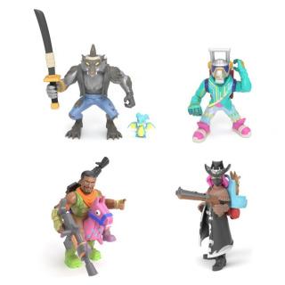 Obrázek 2 produktu Fortnite Battle Royal sada 4 sběratelských figurek: Dire, Calamity, DJ Yonder a Giddy-Up
