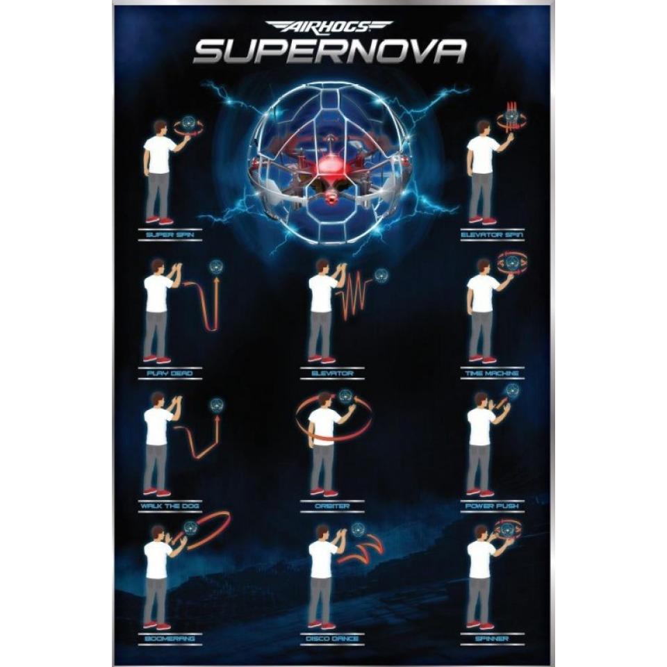 Obrázek 2 produktu Spin Master Air hogs Supernova létající koule