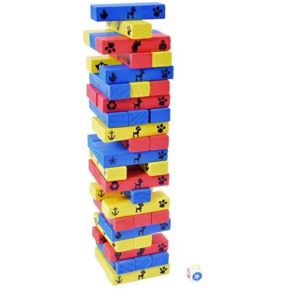 Obrázek 1 produktu Spin Master Tlapková patrola Jenga vratká věž