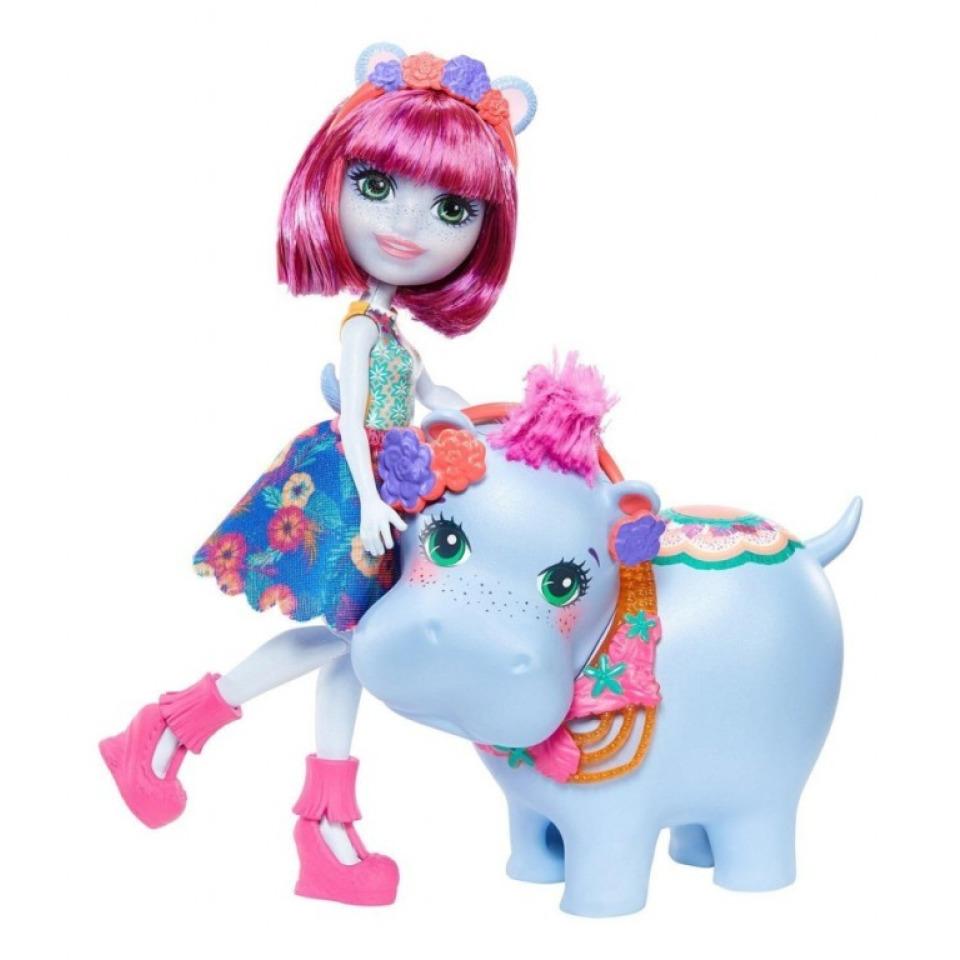 Obrázek 2 produktu ENCHANTIMALS Hedda Hippo a hroch Lake, Mattel GFN56