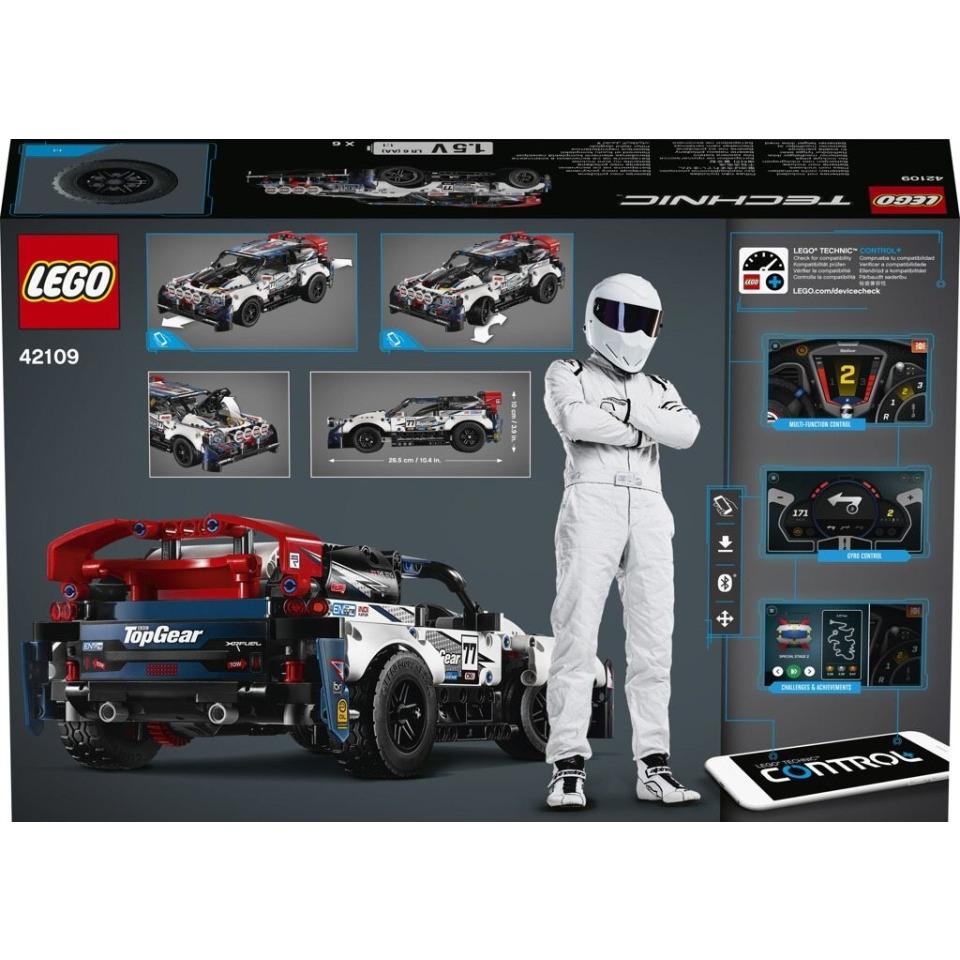 Obrázek 1 produktu LEGO TECHNIC 42109 RC Top Gear závodní auto