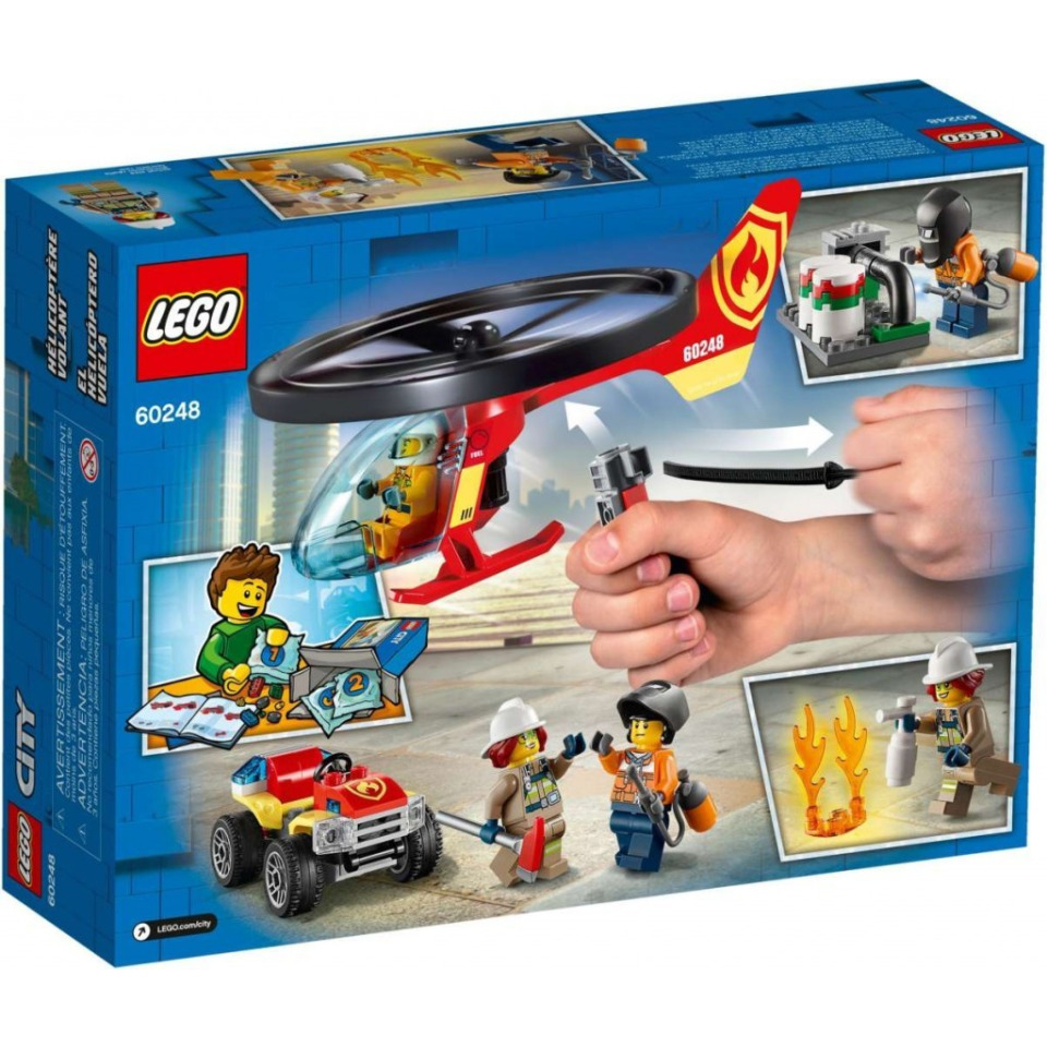 Obrázek 1 produktu LEGO CITY 60248 Zásah hasičského vrtulníku