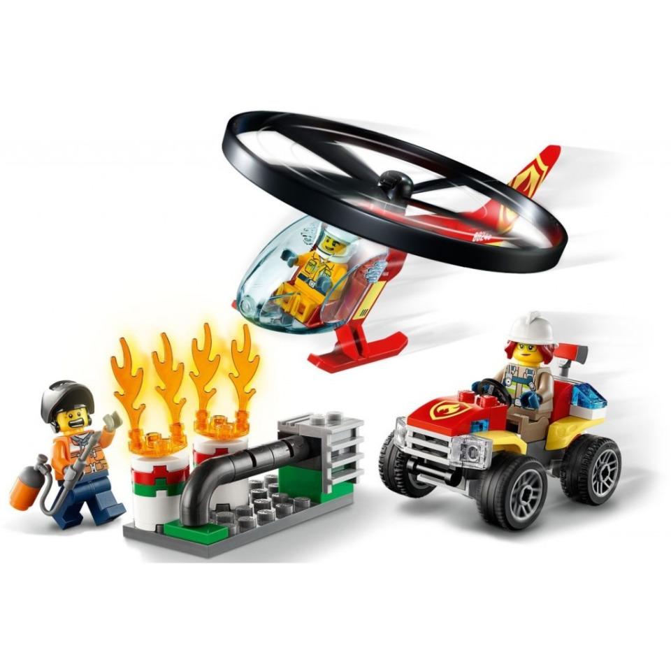 Obrázek 3 produktu LEGO CITY 60248 Zásah hasičského vrtulníku