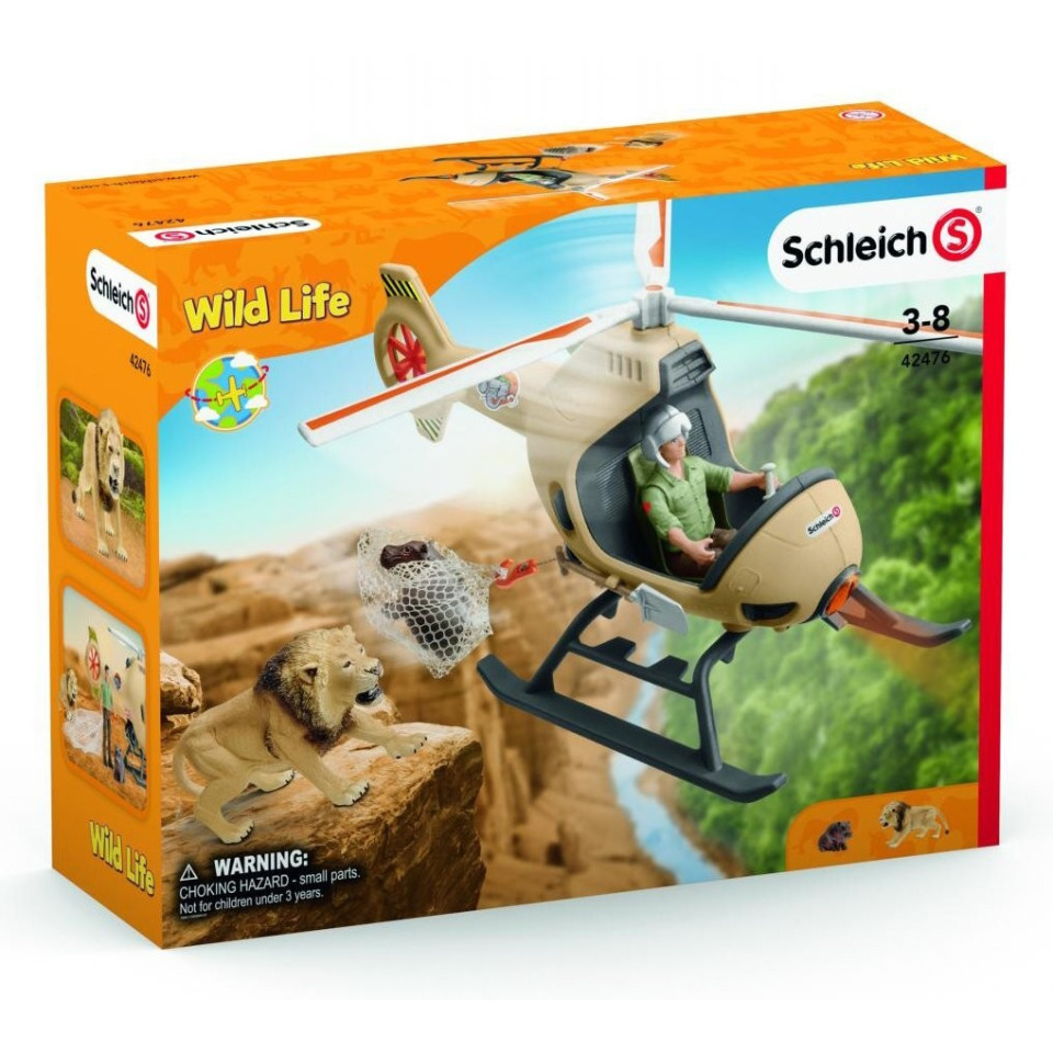 Obrázek 1 produktu Schleich 42476 Záchranný vrtulník pro zvířata