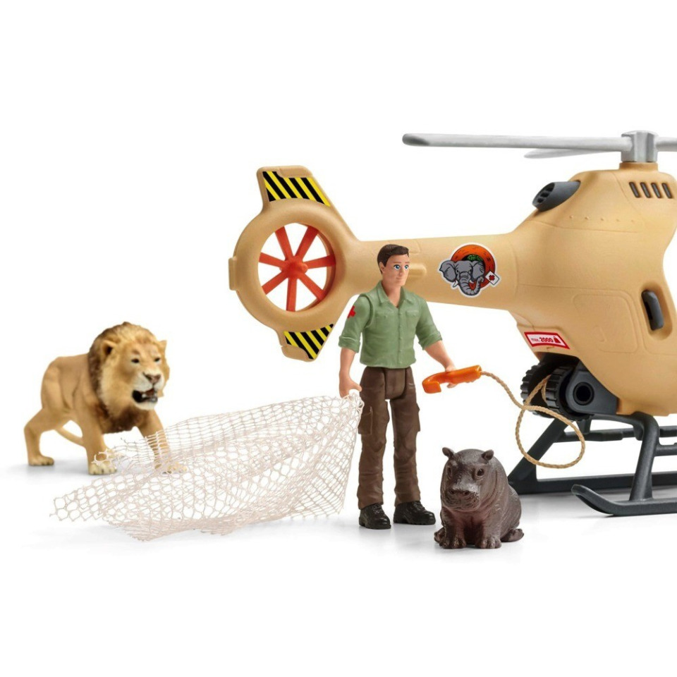 Obrázek 2 produktu Schleich 42476 Záchranný vrtulník pro zvířata