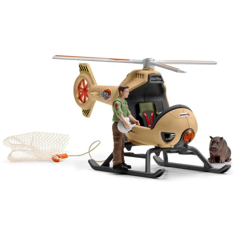 Obrázek 3 produktu Schleich 42476 Záchranný vrtulník pro zvířata