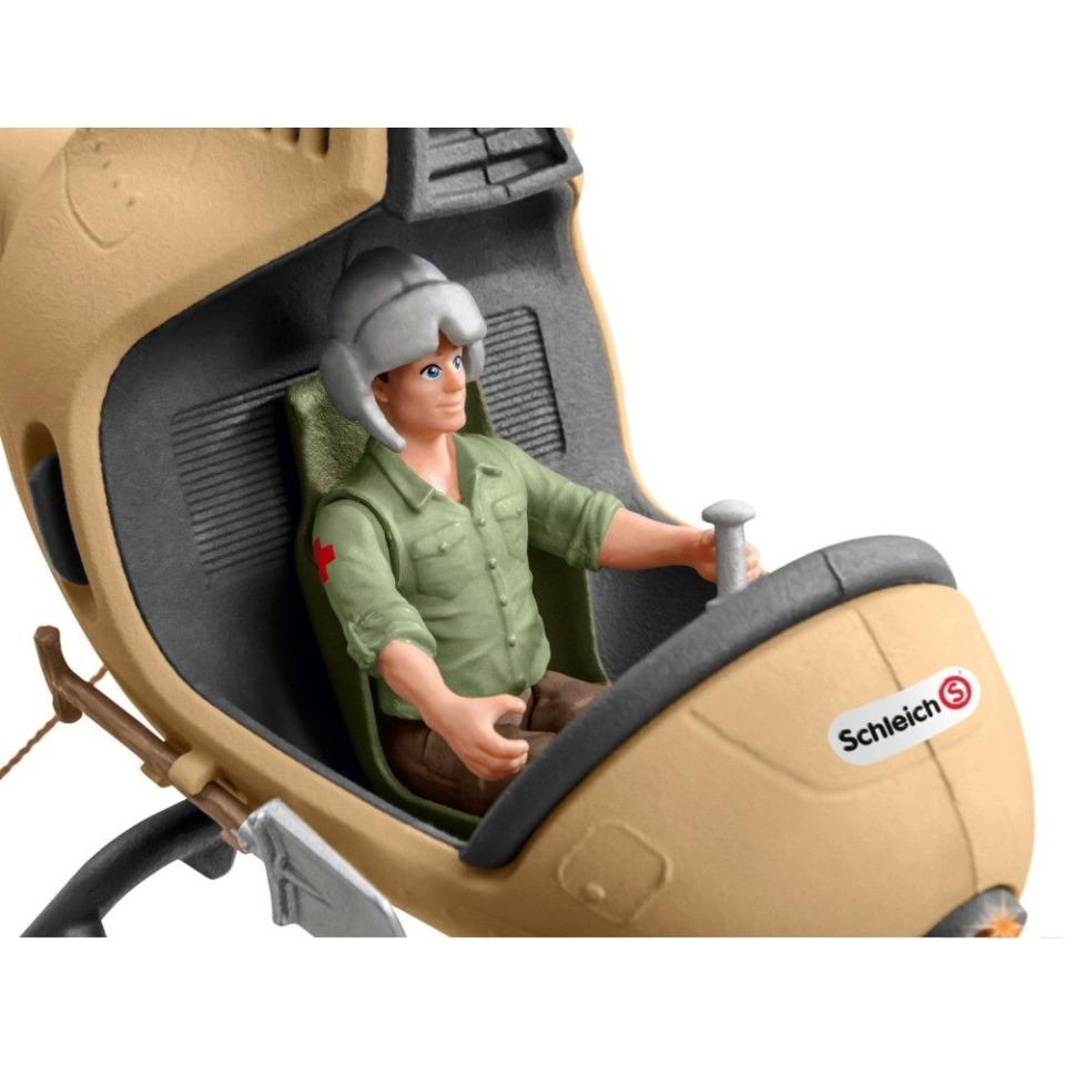 Obrázek 4 produktu Schleich 42476 Záchranný vrtulník pro zvířata
