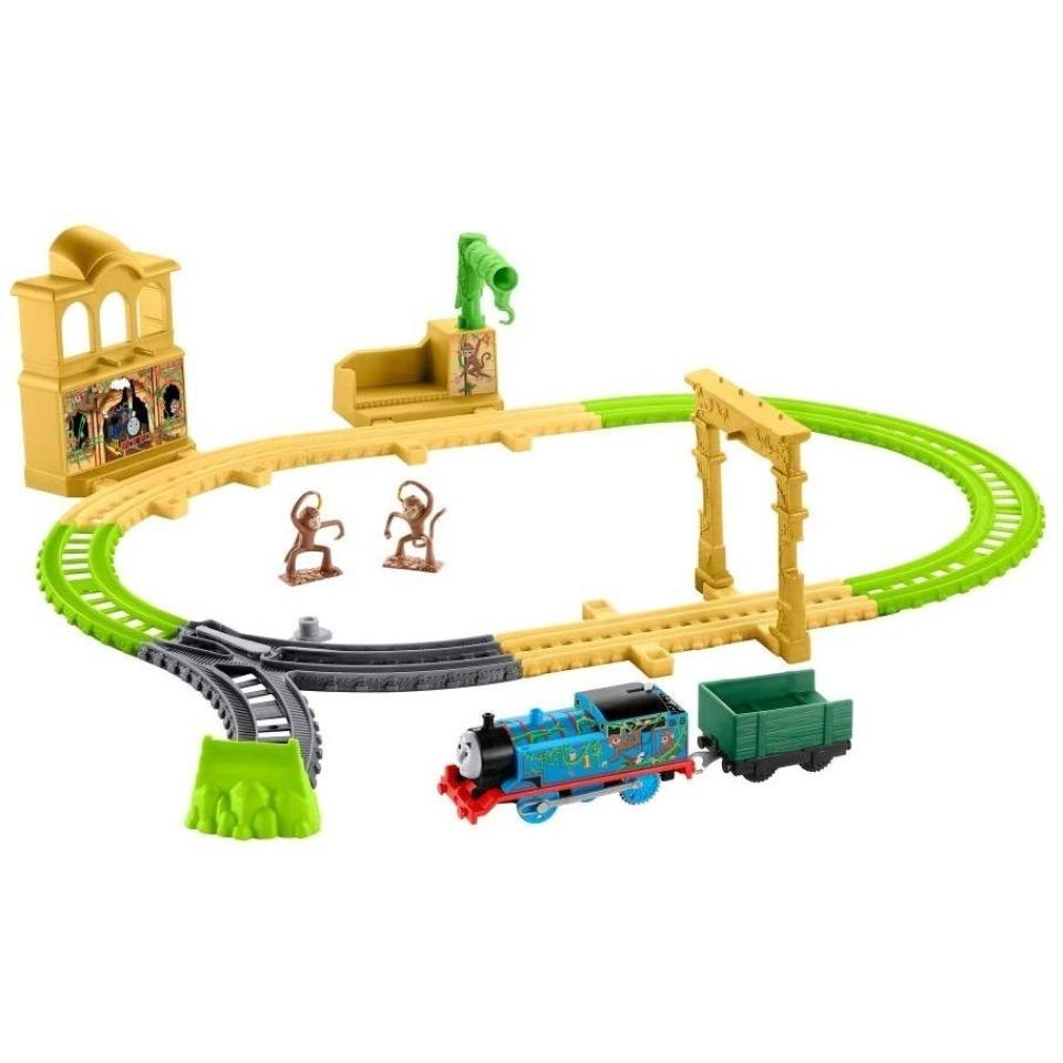 Obrázek 1 produktu Fisher Price Opičí dráha s mašinkou Tomáš, Mattel FXX65