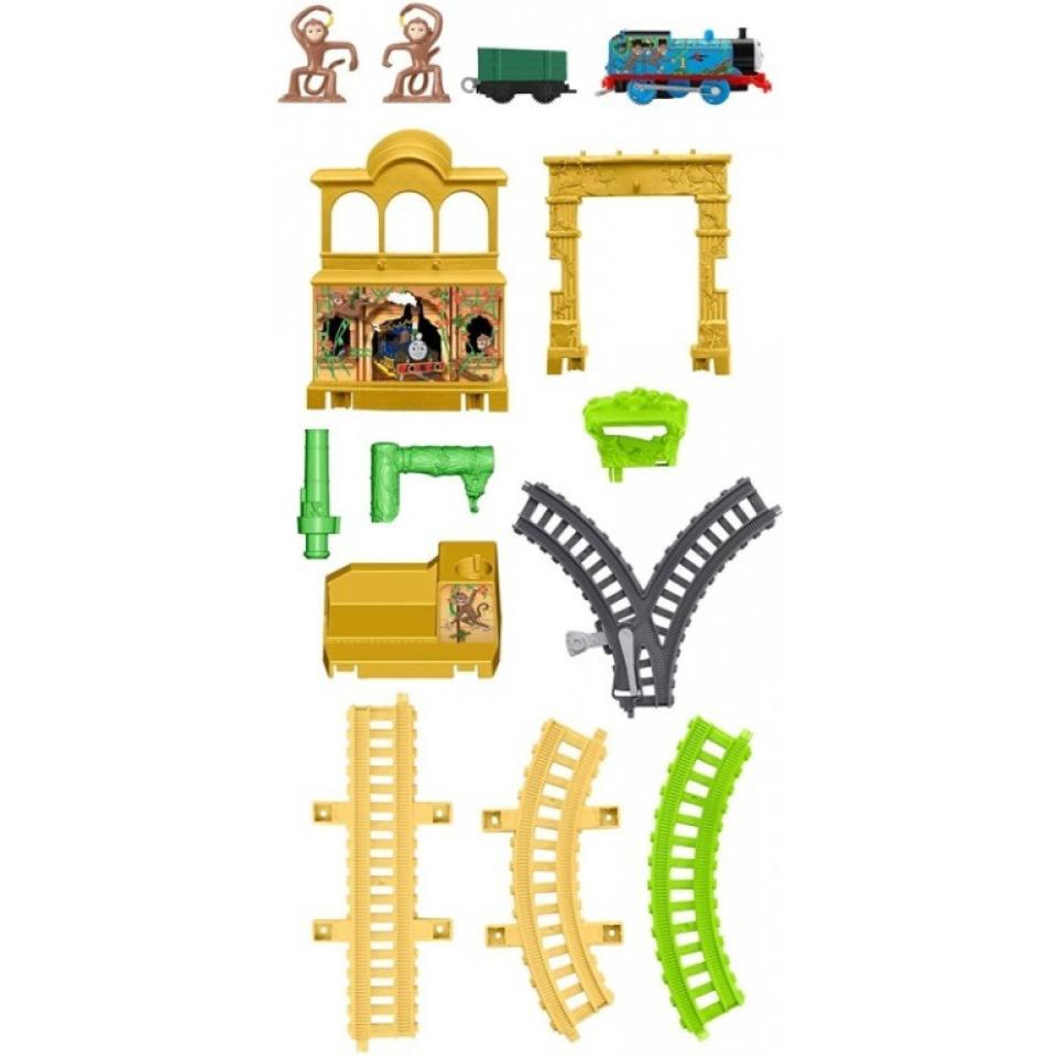 Obrázek 3 produktu Fisher Price Opičí dráha s mašinkou Tomáš, Mattel FXX65