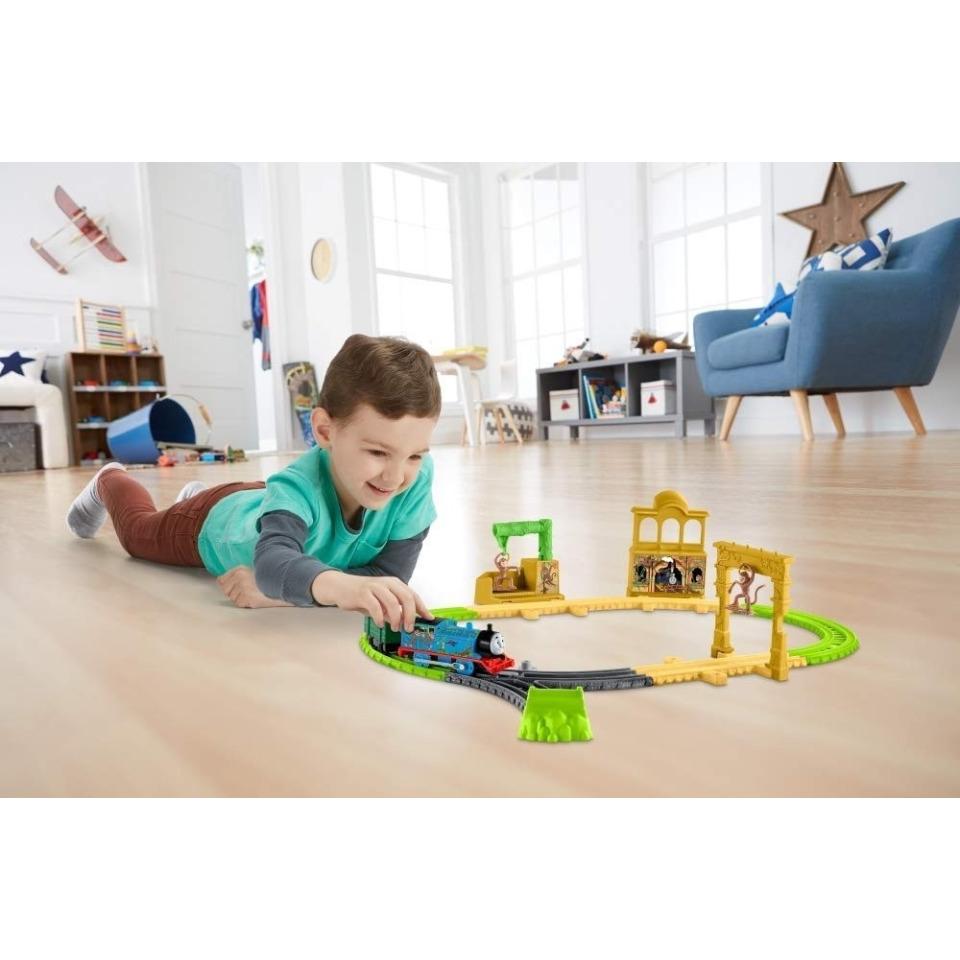 Obrázek 4 produktu Fisher Price Opičí dráha s mašinkou Tomáš, Mattel FXX65