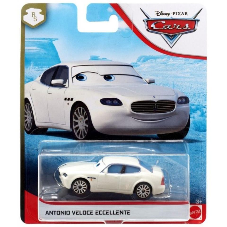 Obrázek 1 produktu Cars 3 Autíčko Antonio Veloce Eccellente, Mattel GBV53