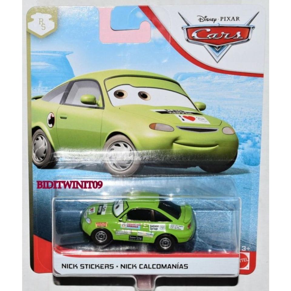 Obrázek 1 produktu Cars 3 Autíčko Nick Stickers, Mattel FLL76