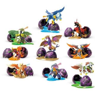 Obrázek 2 produktu Breakout Beasts Vajíčko Drak ve slizu série 3, Mattel GCK31