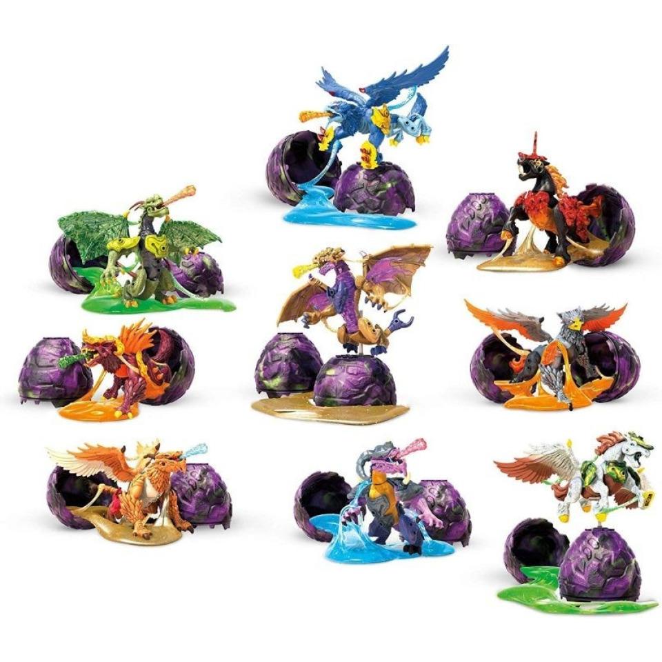 Obrázek 1 produktu Breakout Beasts Vajíčko Drak ve slizu série 3, Mattel GCK31