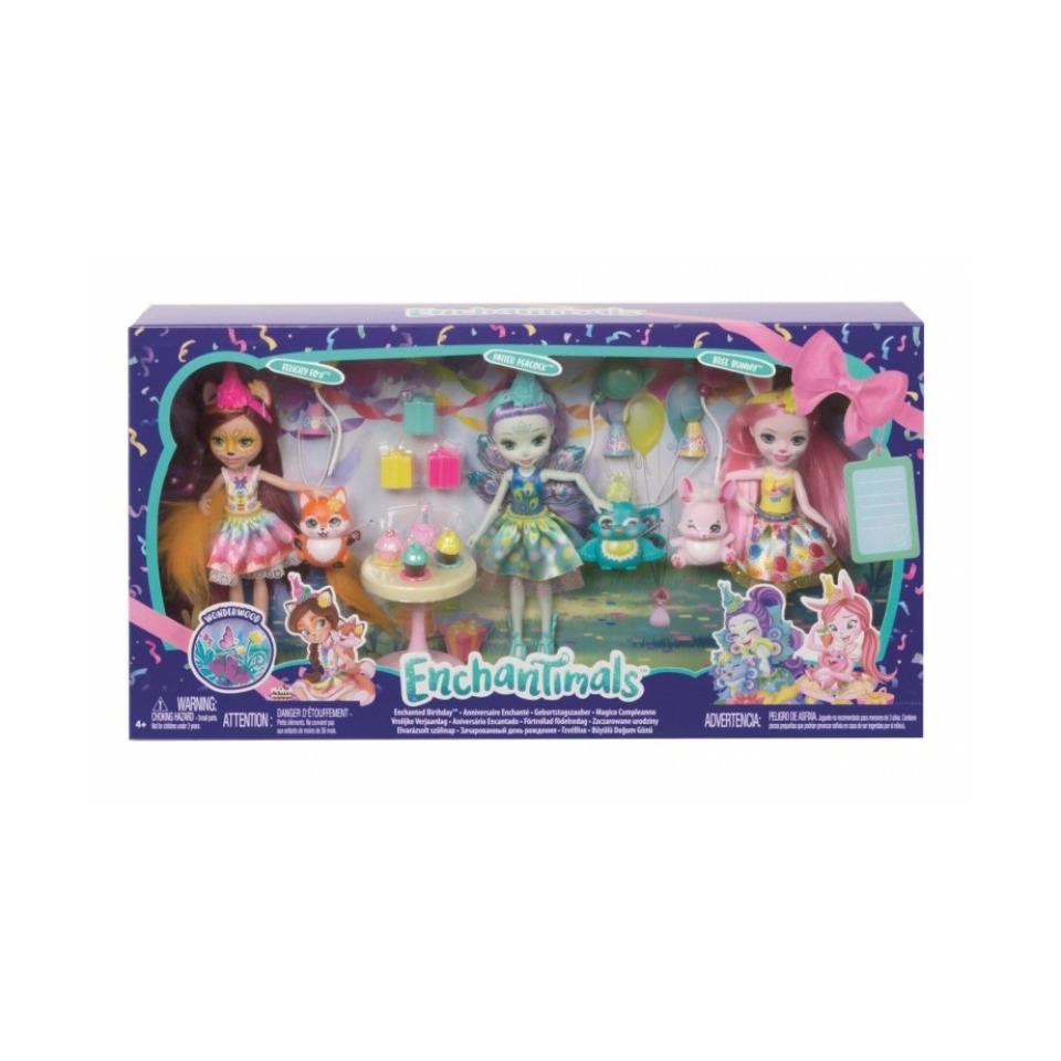 Obrázek 1 produktu ENCHANTIMALS Narozeninová oslava, Mattel GJX22