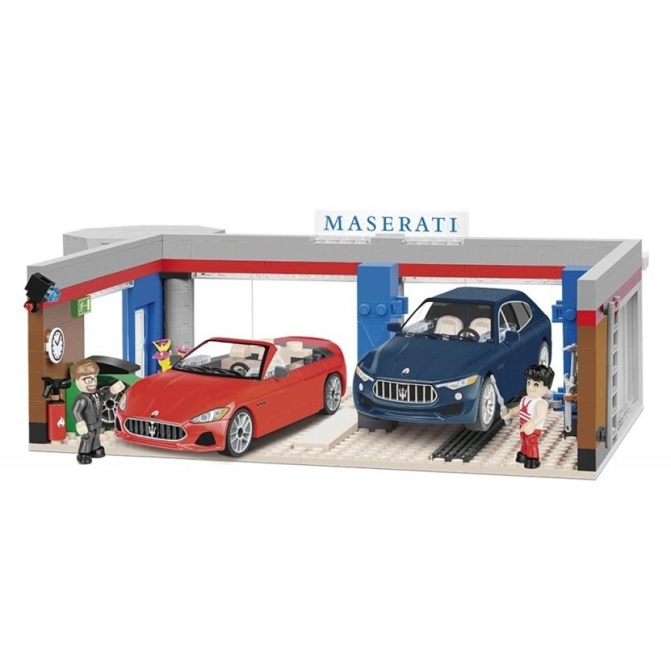 Obrázek 2 produktu Cobi 24568 - Maserati Garáž