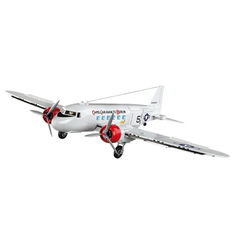 Obrázek 2 produktu COBI 5702 World War II Letadlo Douglas C-47 Skytrain Dakota Berlínský most