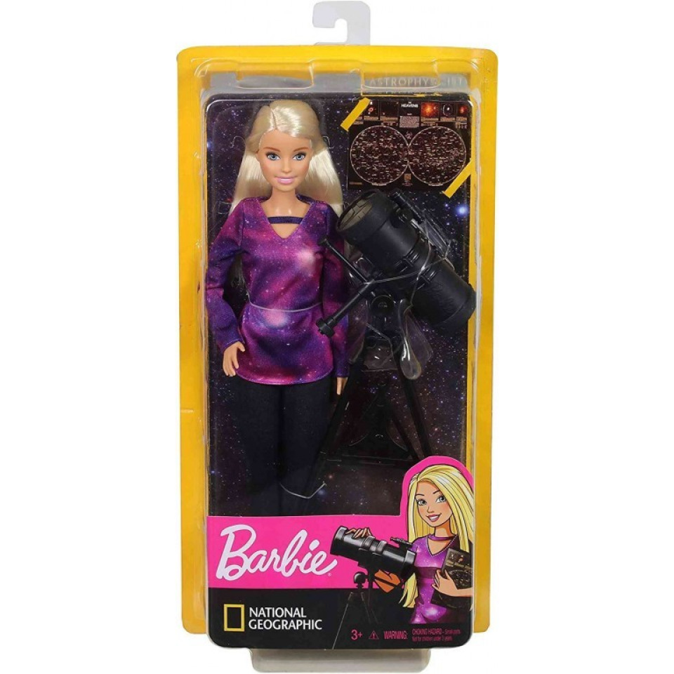 Obrázek 3 produktu Barbie National Geographic Astrofyzik, Mattel GDM47