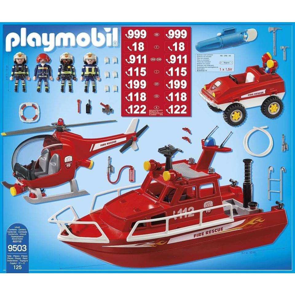 Obrázek 1 produktu Playmobil 9503 Velká hasičská akce