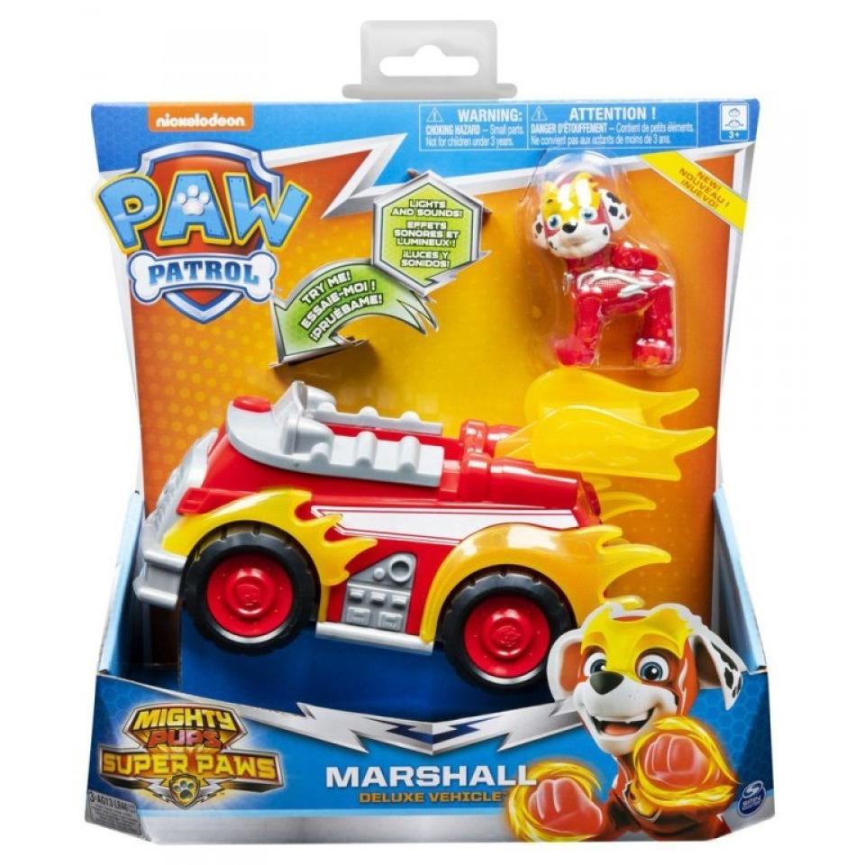 Obrázek 1 produktu Tlapková patrola Super vozidlo MARSHALL, světlo, zvuk, Spin Master