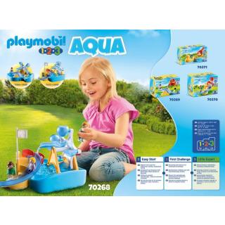 Obrázek 4 produktu Playmobil 70268 Vodní mlýn s kolotočem (1.2.3)