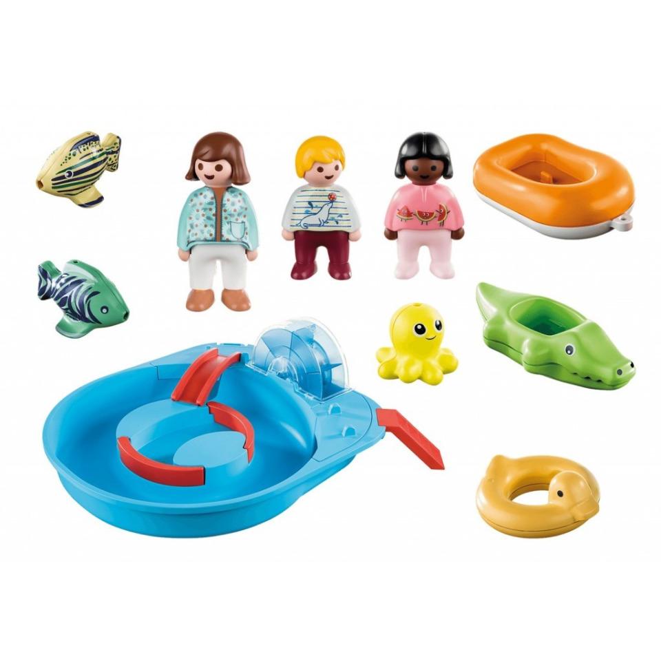 Obrázek 1 produktu Playmobil 70267 Veselá vodní jízda (1.2.3)