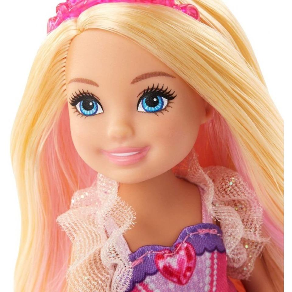 Obrázek 2 produktu Mattel Barbie Princezna Chelsea a hříbátka jednorožce, GJK17