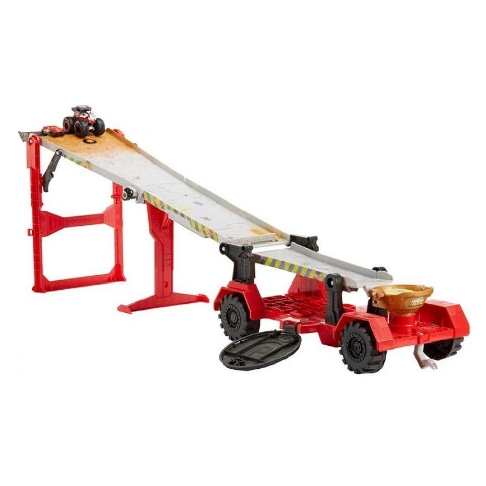 Obrázek 1 produktu Hot Wheels Monster Trucks Závod z kopce, Mattel GFR15