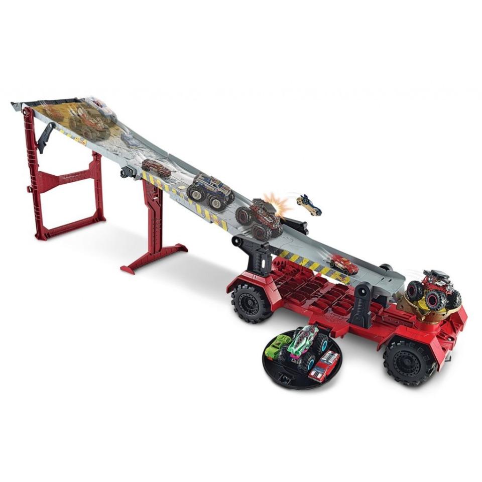 Obrázek 2 produktu Hot Wheels Monster Trucks Závod z kopce, Mattel GFR15