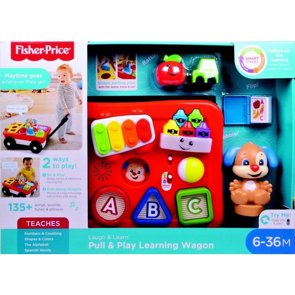 Obrázek 1 produktu Fisher Price Mluvící vagónek, Mattel GHV12