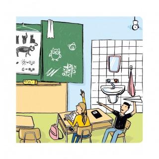 Obrázek 3 produktu Albi Kouzelné čtení Minikniha - Učitel