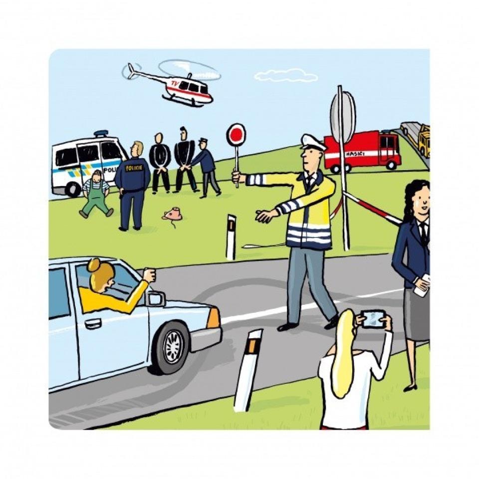 Obrázek 1 produktu Albi Kouzelné čtení Minikniha - Policista