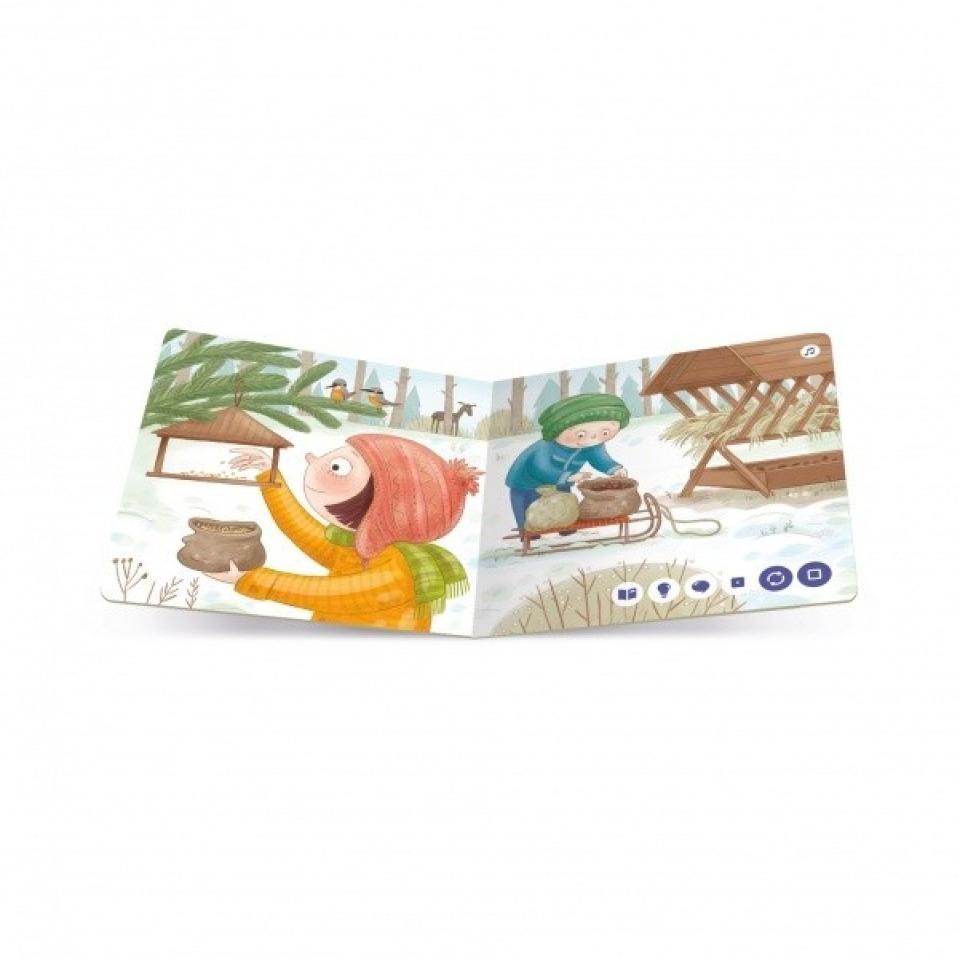 Obrázek 3 produktu Albi Kouzelné čtení Minikniha - Zima