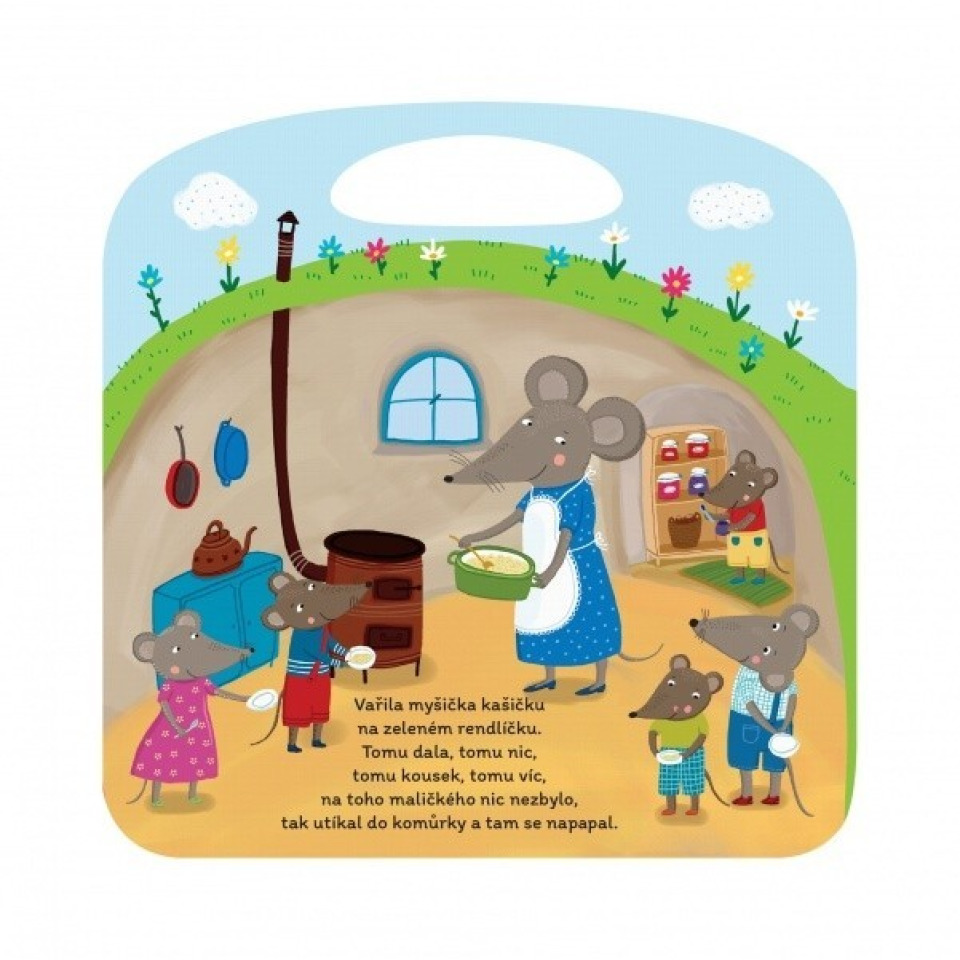 Obrázek 1 produktu Albi Kouzelné čtení Minikniha - Lidové říkanky